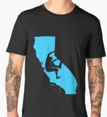 Bouldering in California Men's Premium T-Shirt