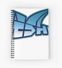Wireshark Sticker Spiral Notebook