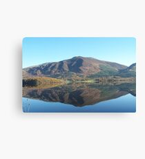 One Crisp Morning in the Lakes Canvas Print