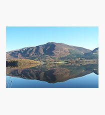 One Crisp Morning in the Lakes Photographic Print