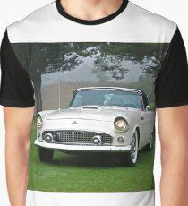 1956 Ford Thunderbird Convertible Graphic T-Shirt