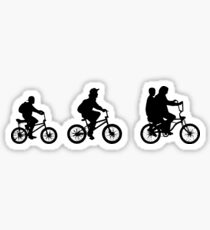 Stranger Things - The Other World - BIKES Sticker