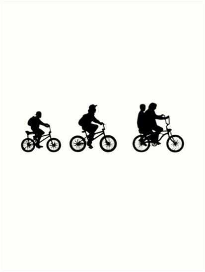 Quot Stranger Things The Other World Bikes Quot Art Print By