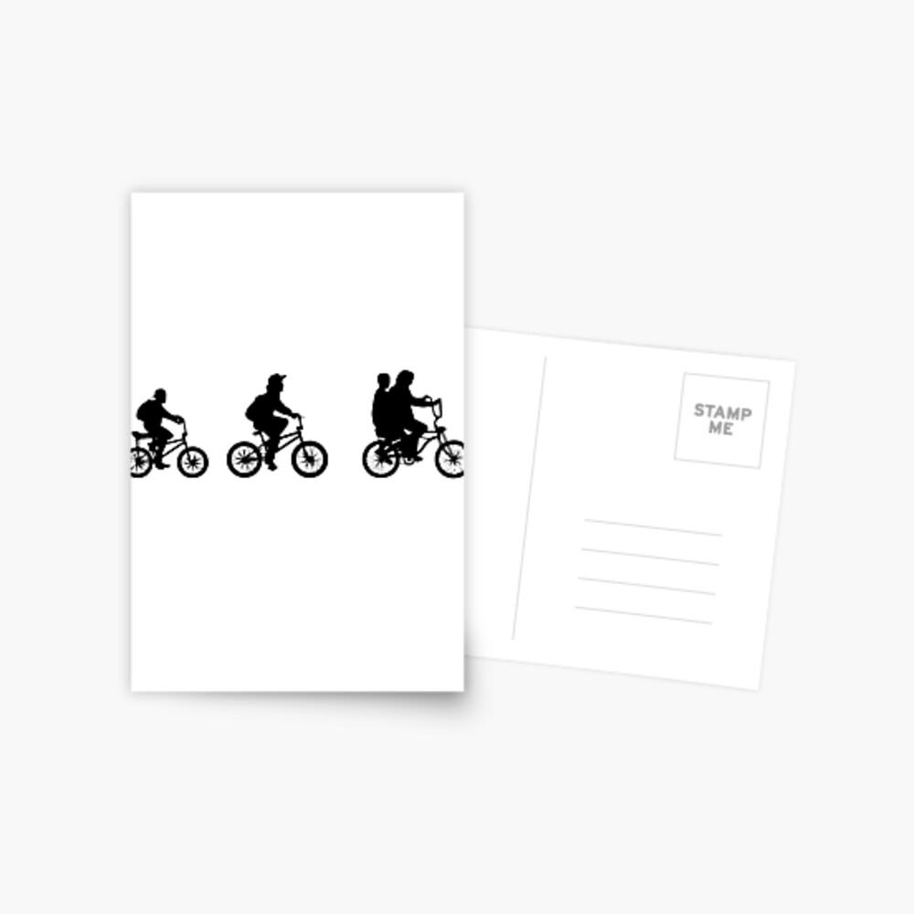 Cosas extrañas - El otro mundo - BICICLETAS Postal