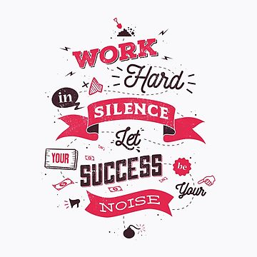 WORK HARD V3 by snevi