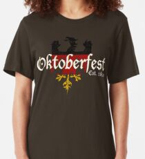 Oktoberfest Established 1810 Slim Fit T-Shirt