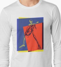Pop Art Skeleton Rocker T-Shirt