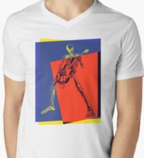 Pop Art Skeleton Rocker T-Shirt