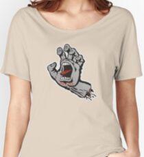 Santa Cruz Screeming Hand Grey Women's Relaxed Fit T-Shirt