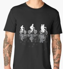 Stranger Things, the white BIKES Men's Premium T-Shirt