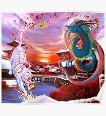 Byakko et Seiryu Poster