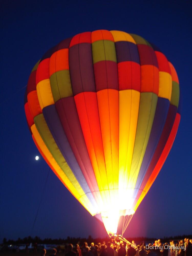 Hot Air Balloon by Dorthy Ottaway