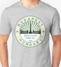 Budapest, Heroes' Square, Hosök tere, Hungary, circle T-Shirt