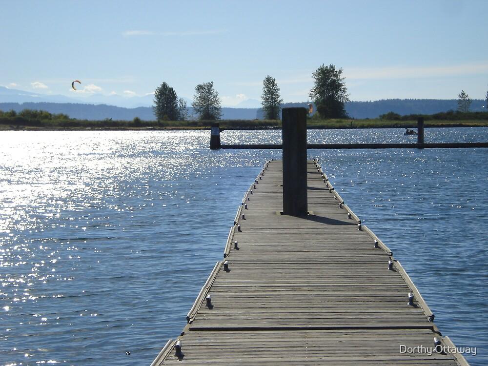 The dock by Dorthy Ottaway