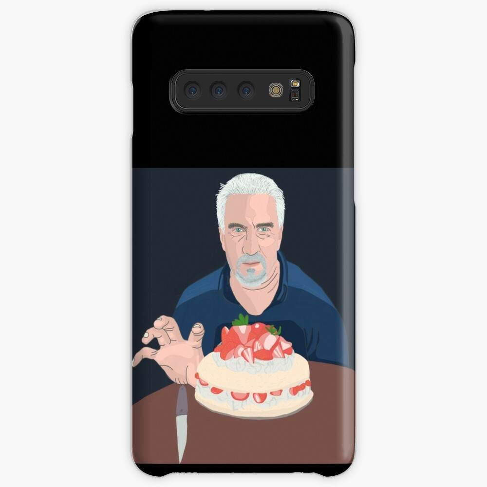 Paul Hollywood is hungry Case & Skin for Samsung Galaxy