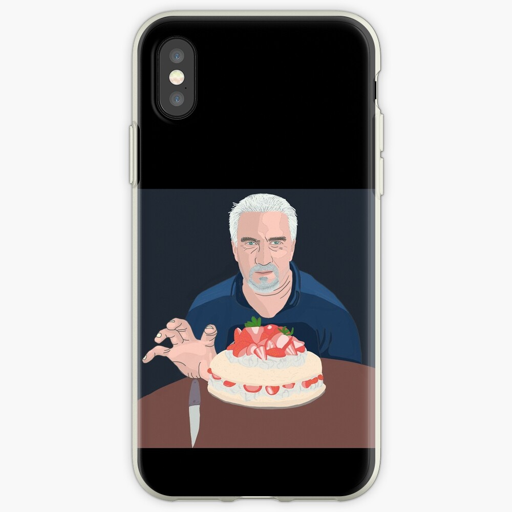 Paul Hollywood is hungry iPhone Case & Cover