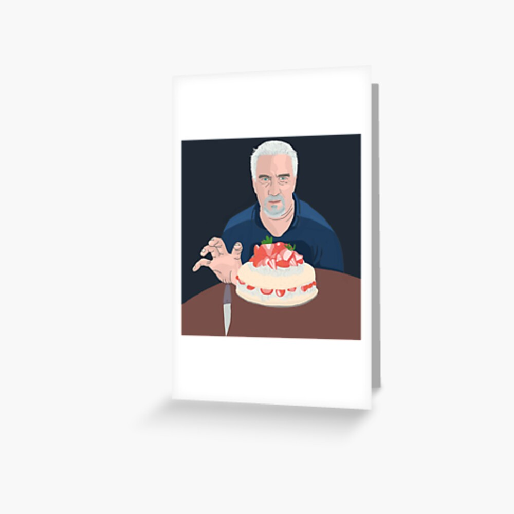 Paul Hollywood is hungry Greeting Card