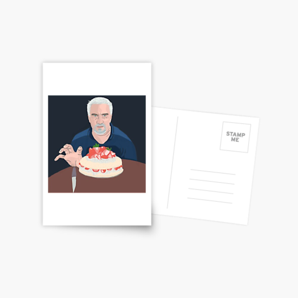 Paul Hollywood is hungry Postcard