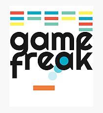 Game Freak Retro Breakout Gaming Photographic Print