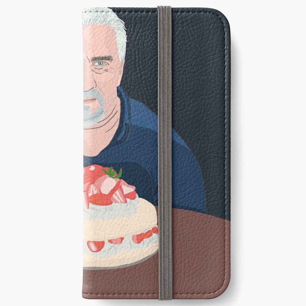 Paul Hollywood is hungry iPhone Wallet