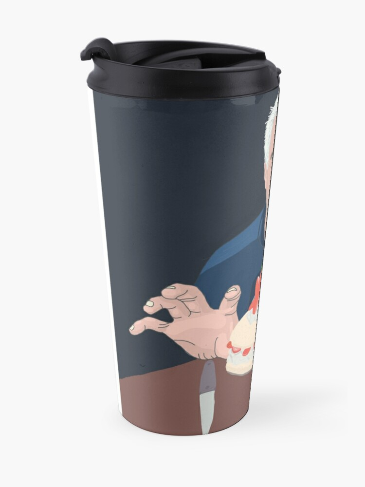 Alternate view of Paul Hollywood is hungry Travel Mug