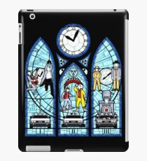 BTTF I,II,III- Stained Glass Window iPad Case/Skin