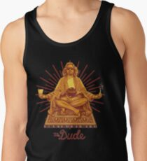 the big lebowski - You don't think your way to creative work. You work your way to creative thinking. Tank Top
