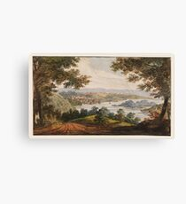 Pavel Petrovich Svinin, (1787 –1839), Washington and Georgetown from the Alexandria Road Canvas Print
