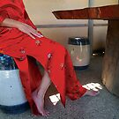 Red Silk by Arlene Zapata
