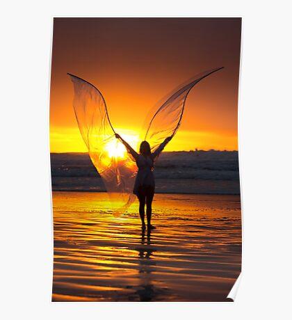 Dawn Angel Poster
