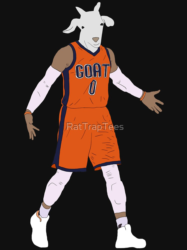 Russell Westbrook, The GOAT by RatTrapTees