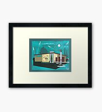 Rocket home  Framed Print