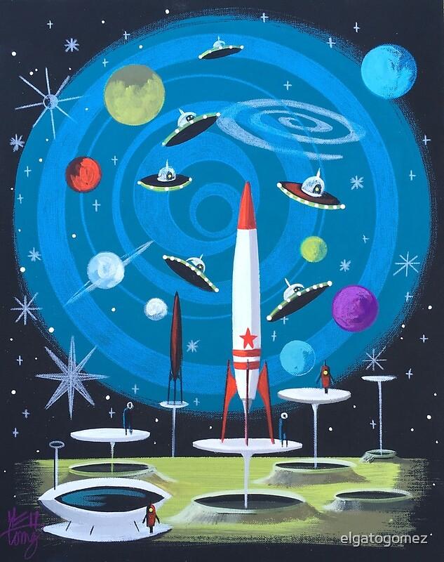 Надписями спокойной, открытка с космосом