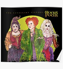 sanderson sisters - I love when clothes make cultural statements and I think personal style is really cool. Poster