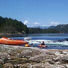 Canoeing on the Sunshine Coast BC by AnnDixon