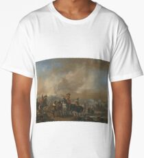Philips Wouwerman, CAVALRY ON THE MOVE, A FORTIFICATION UNDER SIEGE BEYOND Long T-Shirt