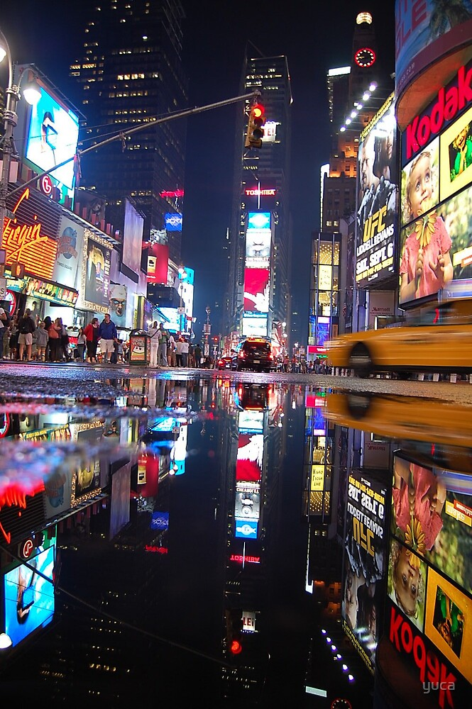 Time Square by yuca