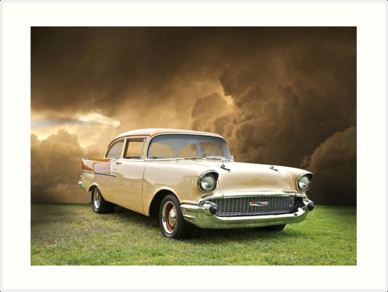 1957 Chevy Biscayne by DaveKoontz