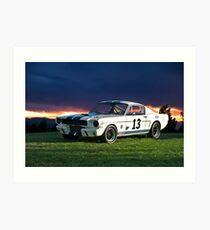 1965 Shelby Mustang GT350R Art Print