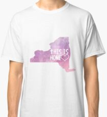 NY - This Is Home Classic T-Shirt