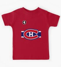 Montreal Canadiens - 2014-15 Jersey - red Kids Tee