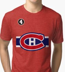 Montreal Canadiens - 2014-15 Jersey - red Tri-blend T-Shirt