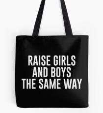 Bolsa de tela Criar a niñas y niños de la misma manera