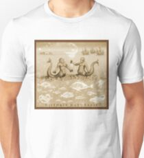 Natural History in Sepia   CreateArtHistory T-Shirt