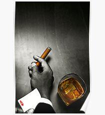Poker Noir Poster