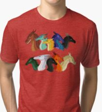 Wings of Fire - POV Characters Tri-blend T-Shirt