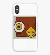 Brown bird iPhone Case/Skin