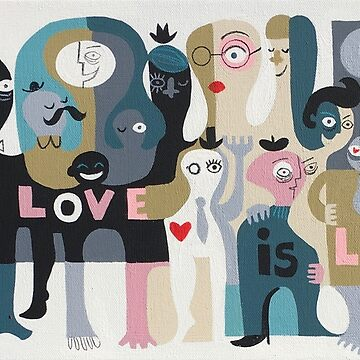 Love Is Love by elgatogomez