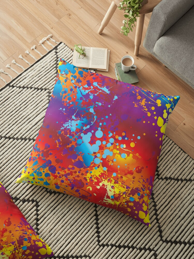 Vibrant Watercolor Splash by SpiceTree