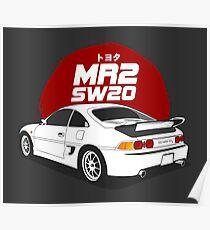 Toyota MR2 SW20 Poster